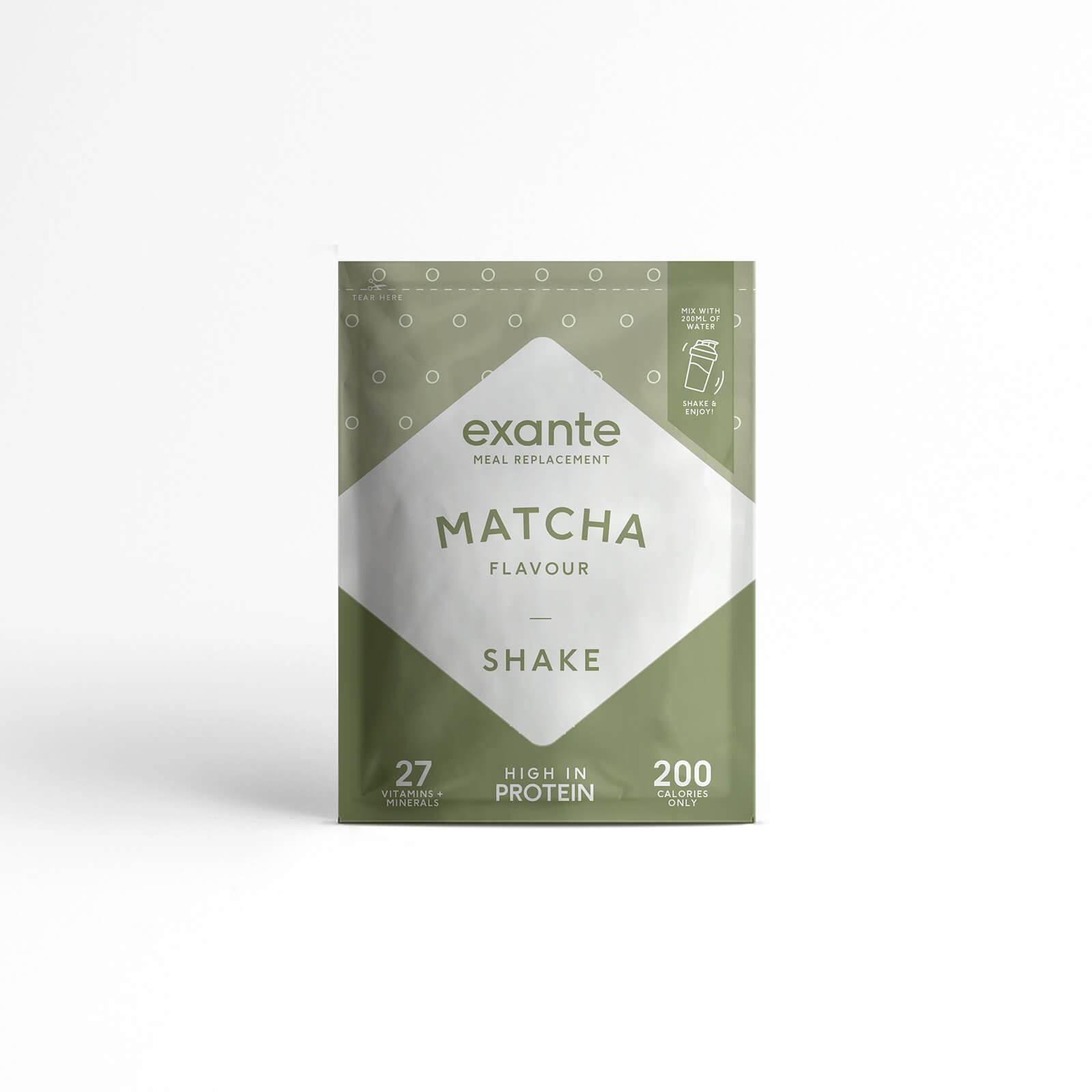Exante Diet Meal Replacement Matcha Shake