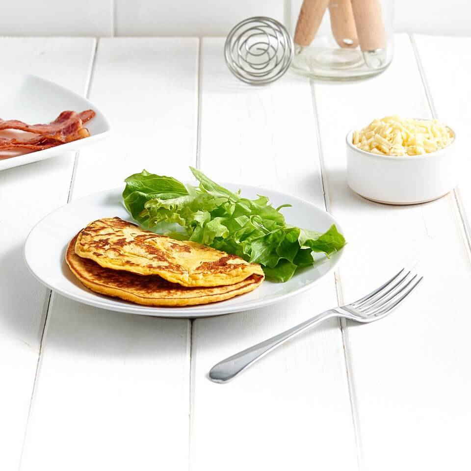 Exante Diet Meal Replacement Cheese & Bacon Breakfast Eggs