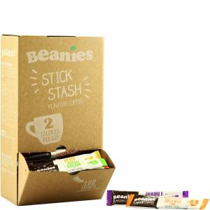 Myvitamins Beanies Mixed Flavour Instant Coffee Sticks - 100 Sachets