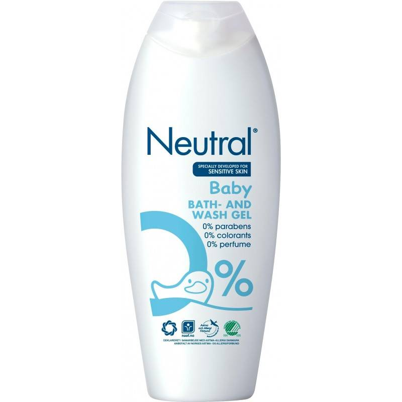 Neutral Baby Bath 250 ml Shower Gel