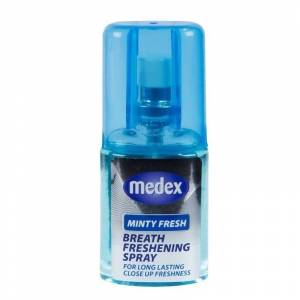Medex Breath Freshening Spray Minty Fresh 20 ml Breath Freshener