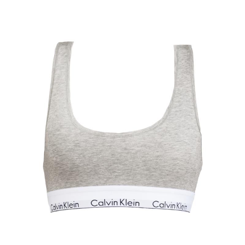 Calvin Klein Underwear F3785E Bralette Grey Small Underwear