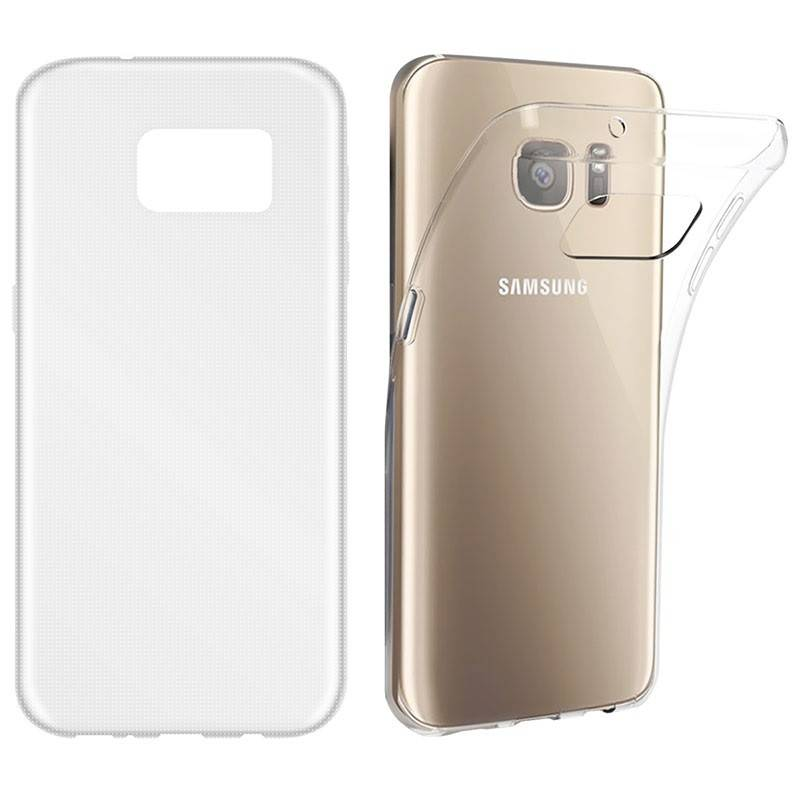 BasicsMobile Samsung S7 Clear Ultra Thin & Soft Cover Samsung S7 Covers
