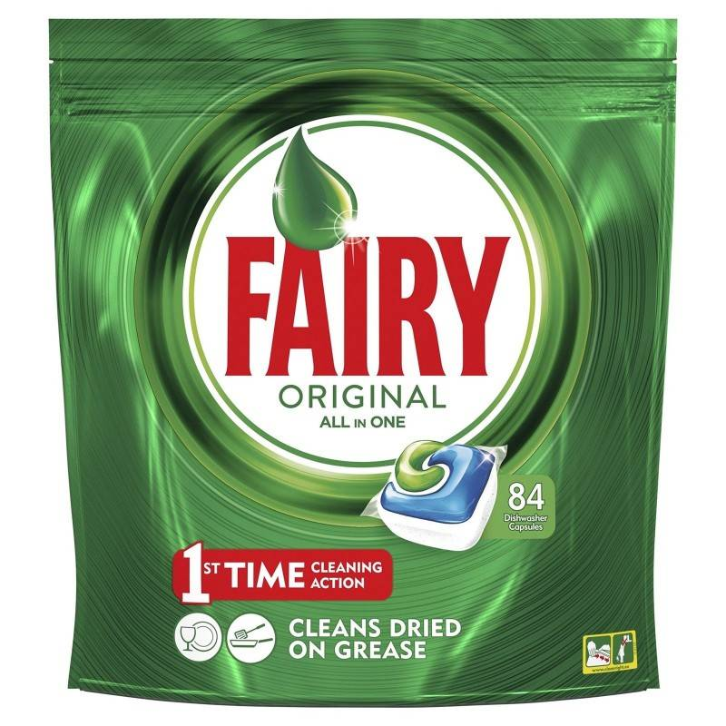 Fairy Original All In One Dishwasher Tabs 84 pcs Dishwasher Tablets
