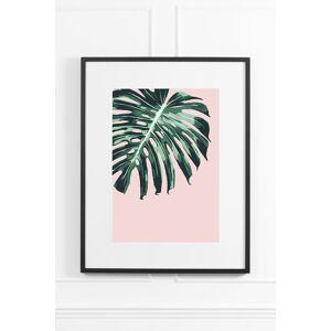 My-Furniture Tropical Blush No.2 - Black Frame