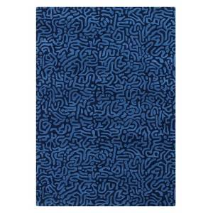 My-Furniture Moray Blue Rug
