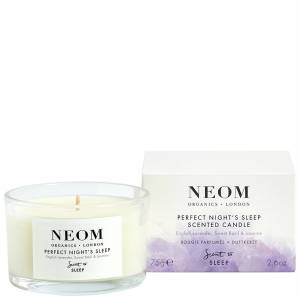 Neom Organics London - Scent To Sleep Tranquillity Scented Candle (Travel) 75g for Women