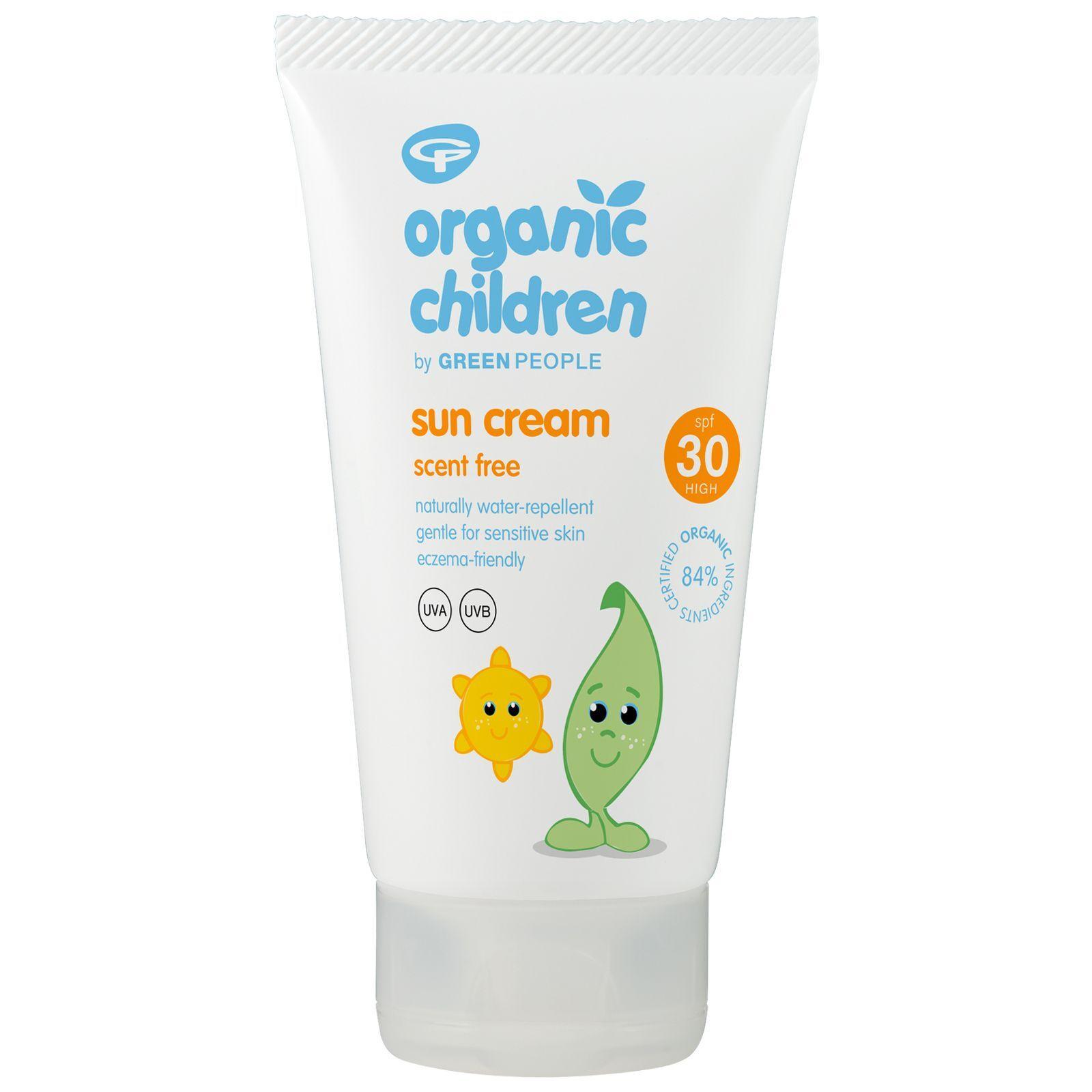 Green People - Organic Children Scent Free Sun Lotion SPF30 150ml for Women