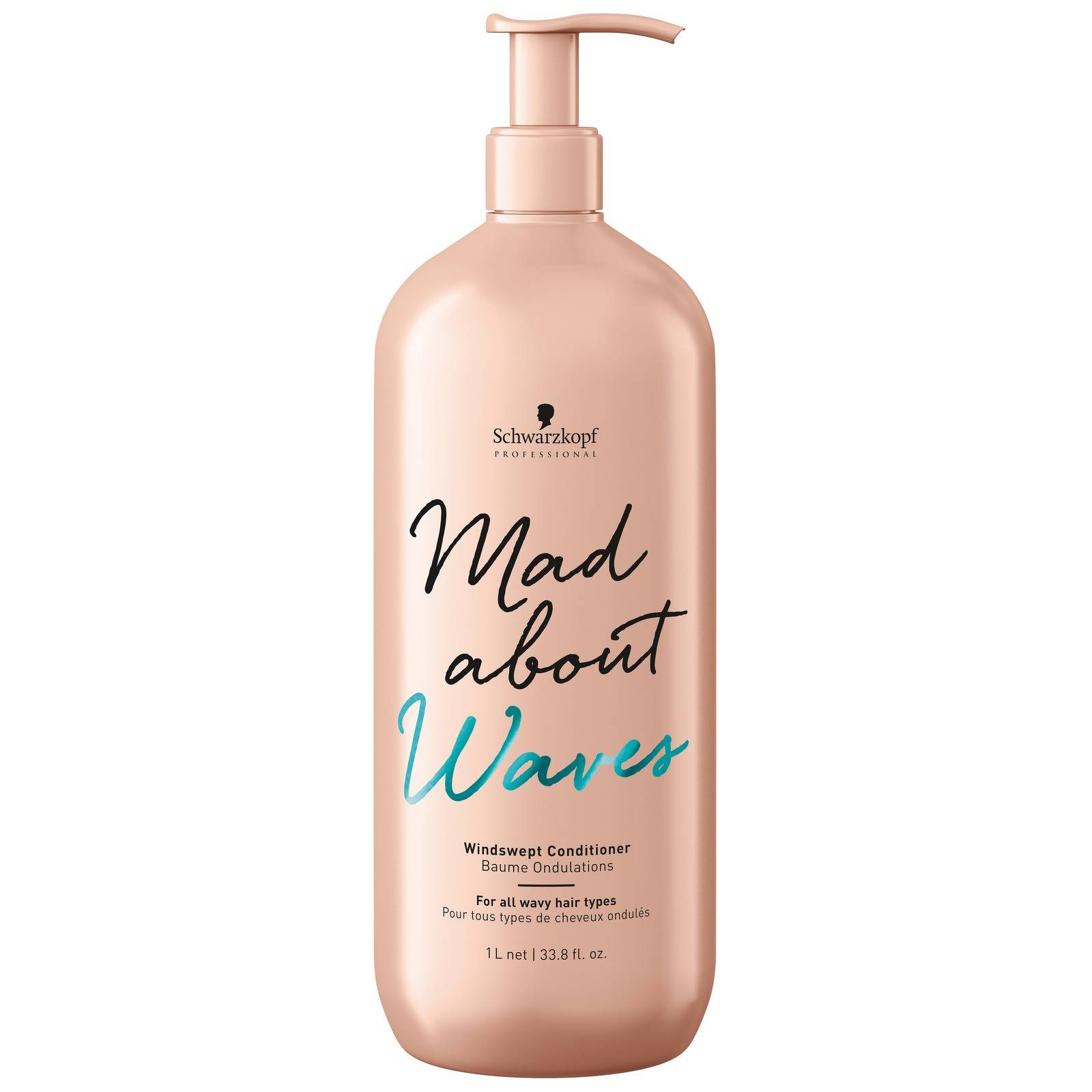 Schwarzkopf - Mad About Waves Windswept Conditioner 1000ml for Women