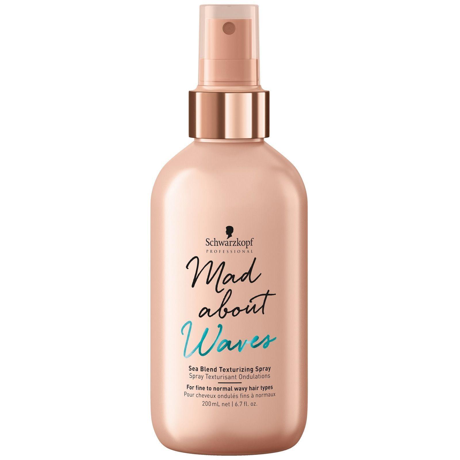Schwarzkopf - Mad About Waves Sea Blend Texturizing Spray 200ml for Women