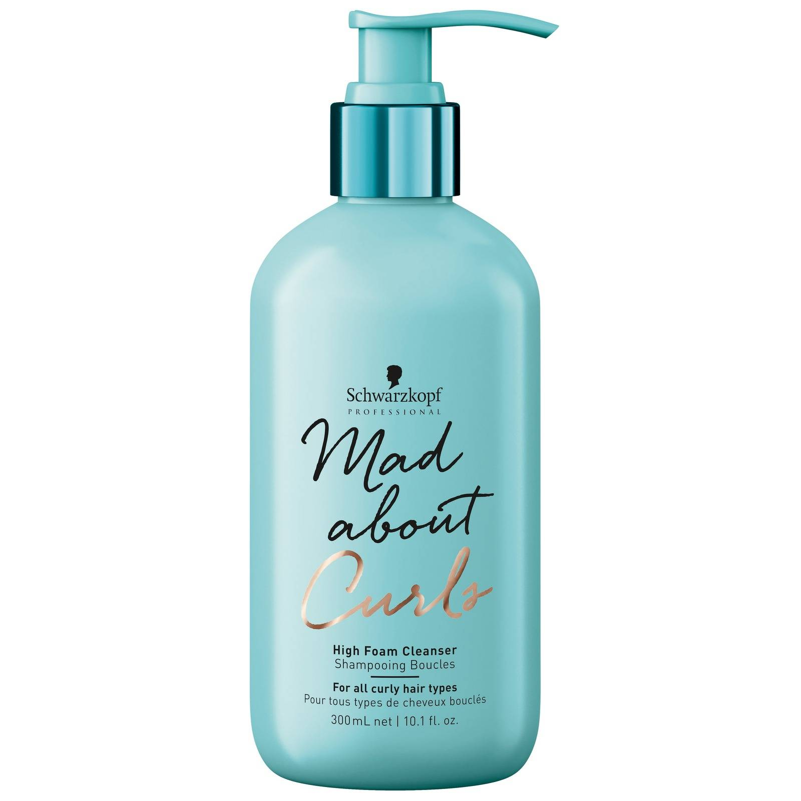 Schwarzkopf - Mad About Curls High Foam Cleanser 300ml for Women, sulphate-free