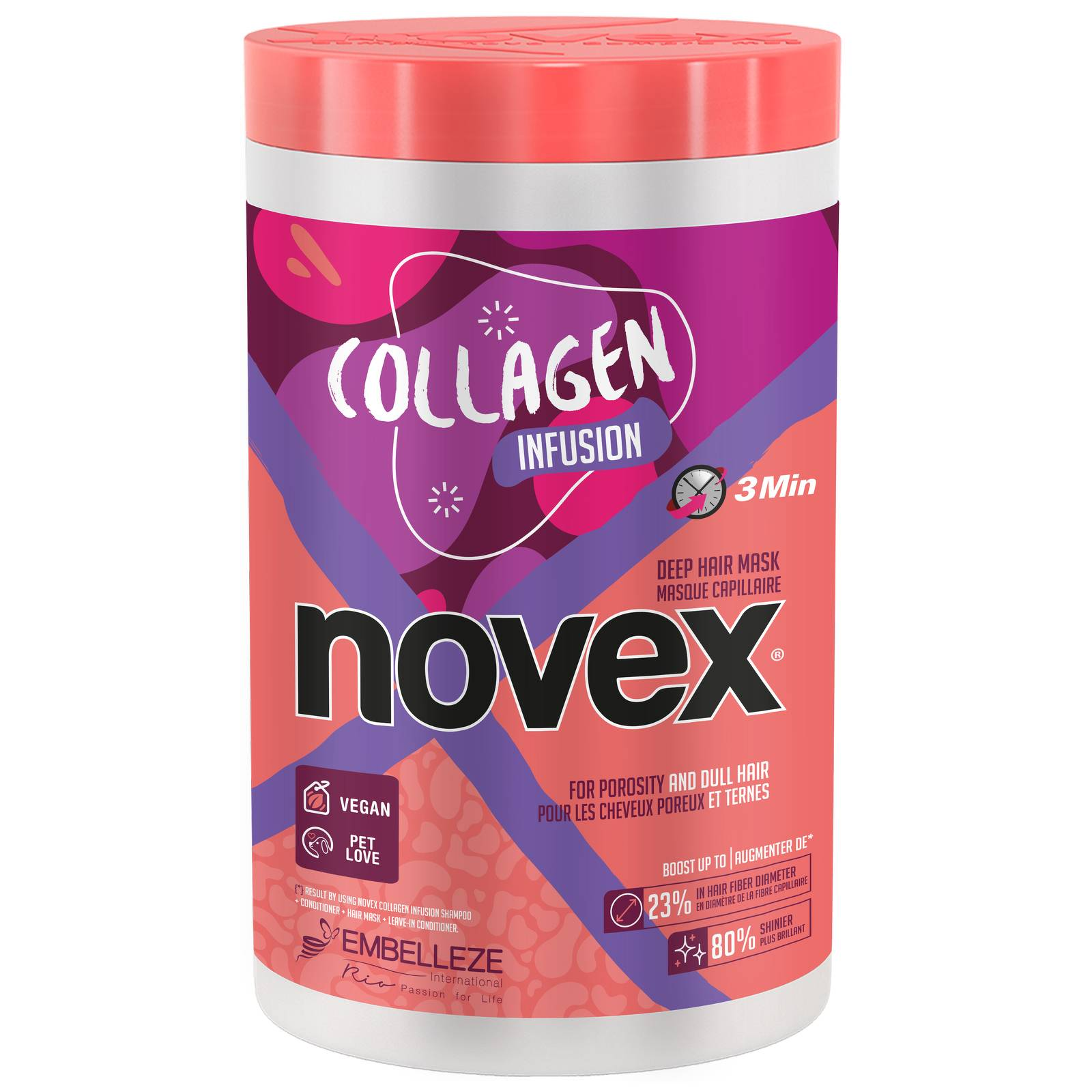 Novex - Collagen Infusion Hair Mask 1kg for Women