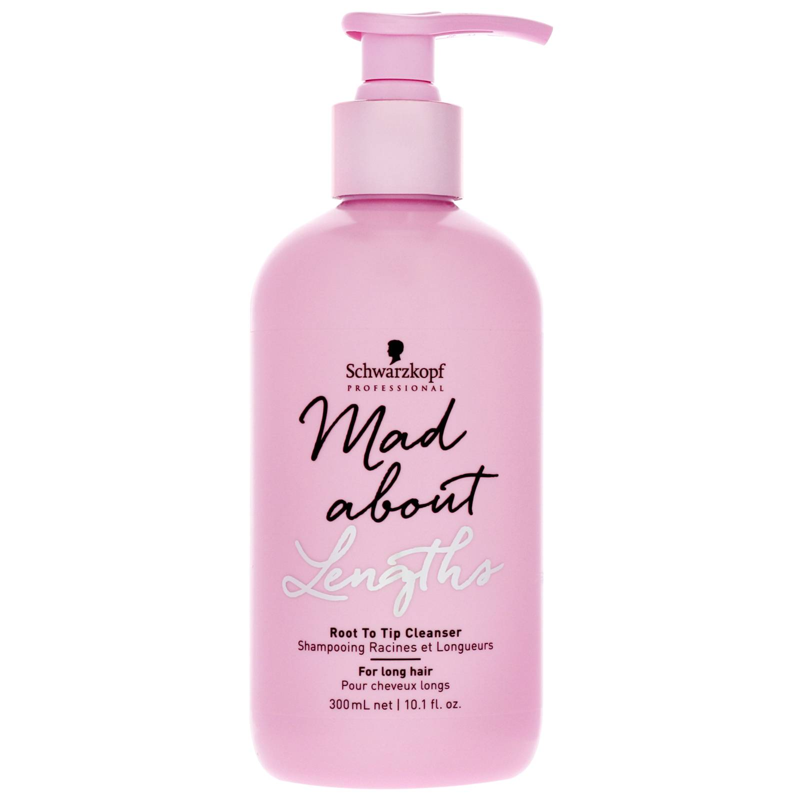 Schwarzkopf - Mad About Lengths Root To Tip Cleanser 300ml for Women, sulphate-free