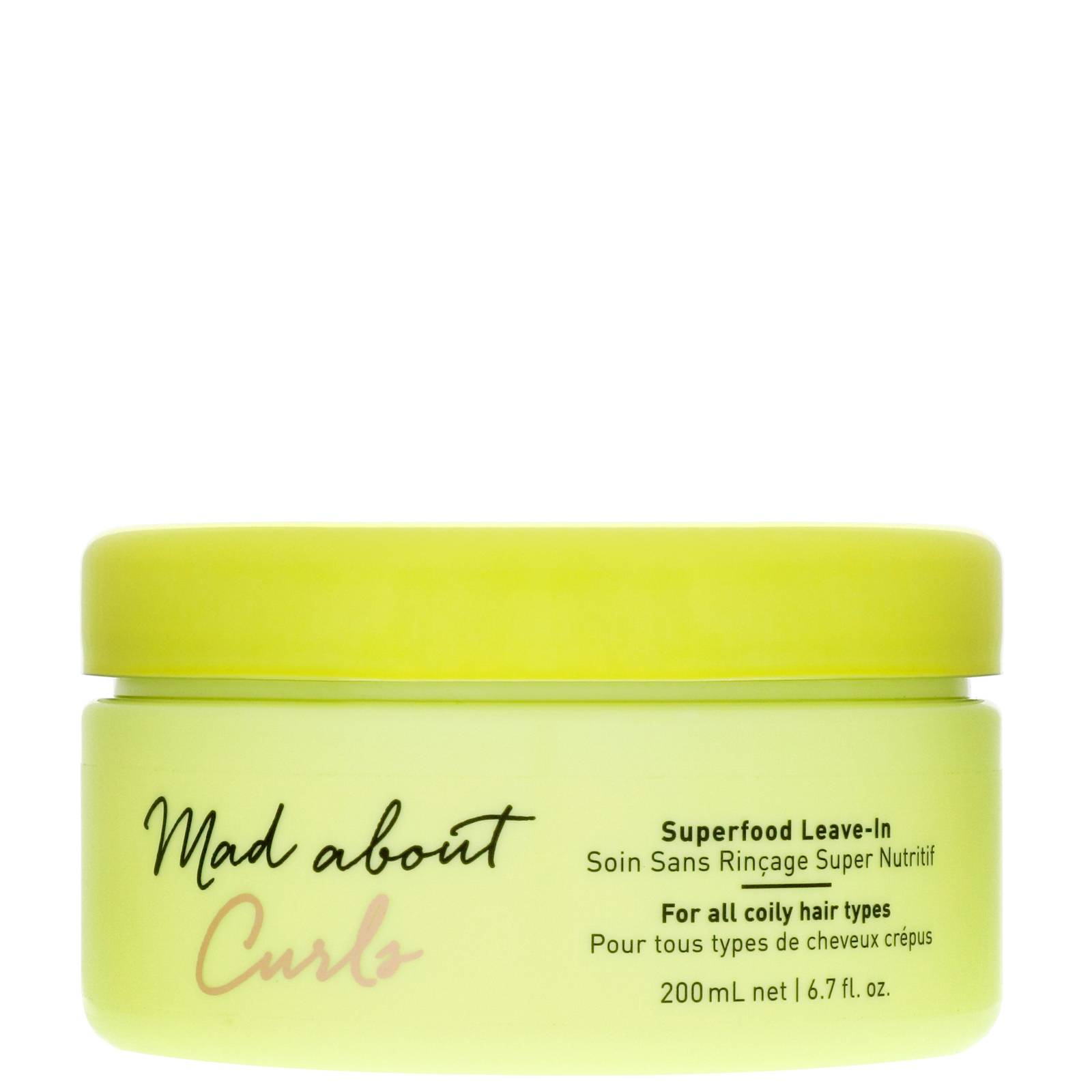 Schwarzkopf - Mad About Curls Superfood Leave-In 200ml for Women