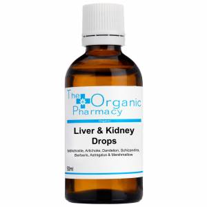 The Organic Pharmacy - Supplements Liver & Kidney Drops 50ml for Men and Women