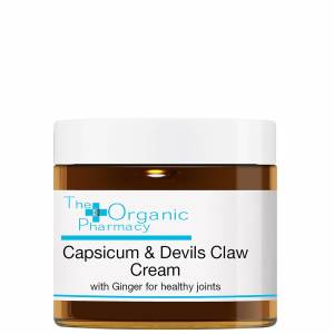 The Organic Pharmacy - Herbal Creams Capsicum, Devil's Claw & Ginger Cream 60g for Men and Women