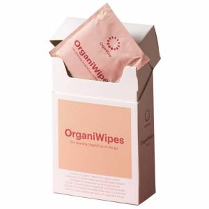 OrganiCup - The Menstrual Cup OrganiWipes for Women
