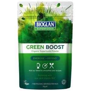 Bioglan - Super Foods Green Boost 70g for Men and Women