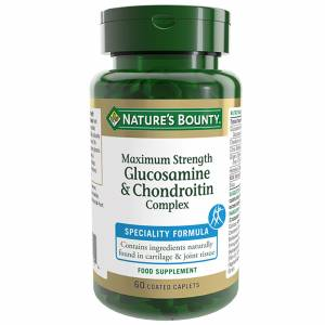 Nature's Bounty - Maximum Strength Glucosamine & Chondroitin Complex x 60 for Men and Women