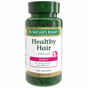 Nature's Bounty - Beauty Healthy Hair with Keratin Capsules x 60 for Men and Women