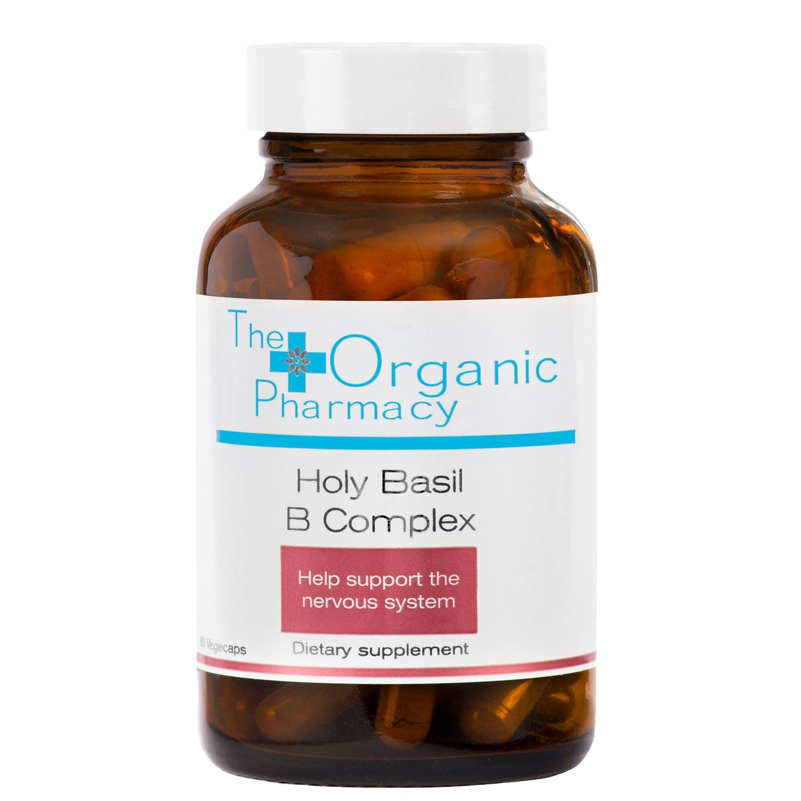 The Organic Pharmacy - Health Holy Basil B Complex 60 Capsules for Men and Women