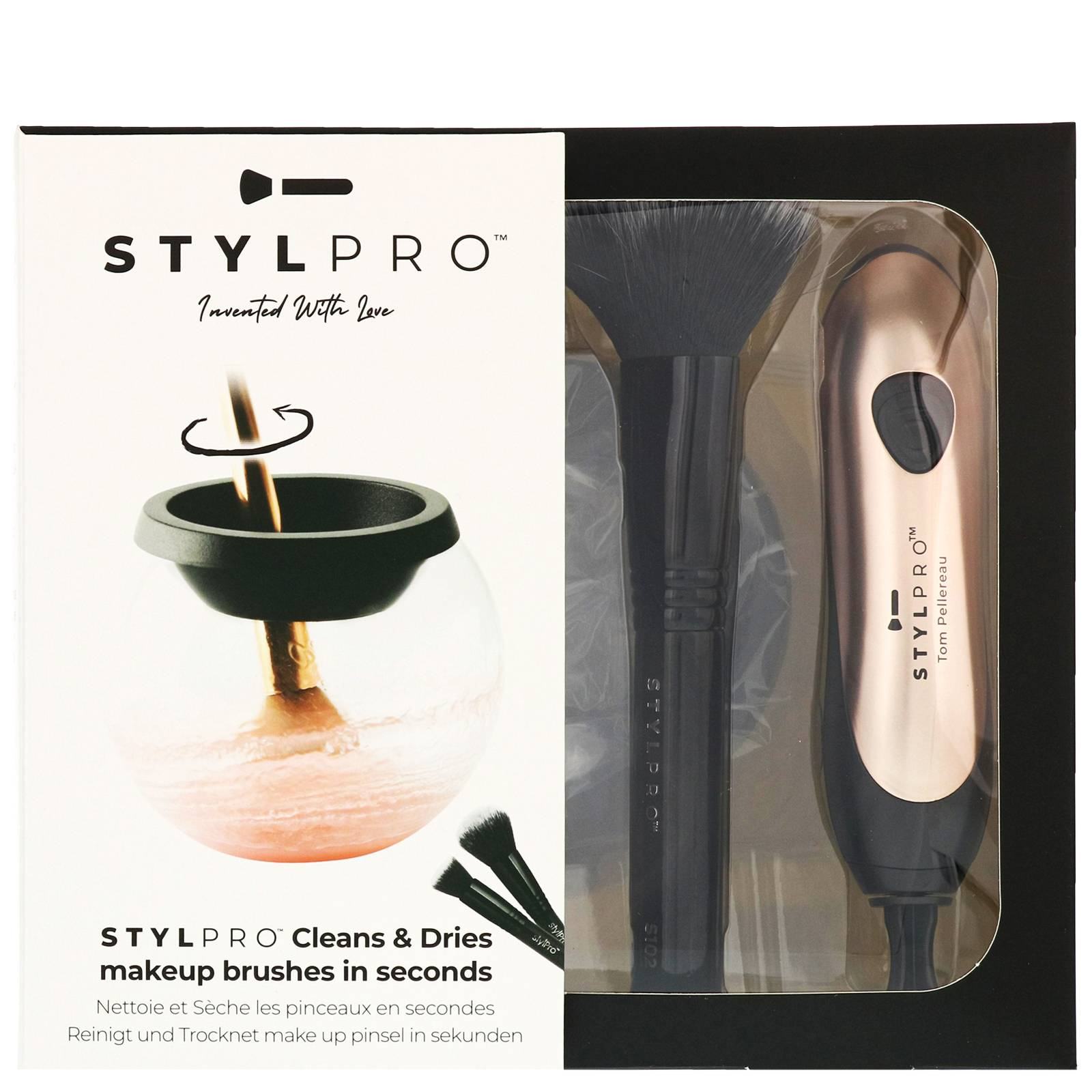 STYLPRO - Limited Edition Blush Makeup Brush Cleaner & Dryer & Cleanser 150ml for Women