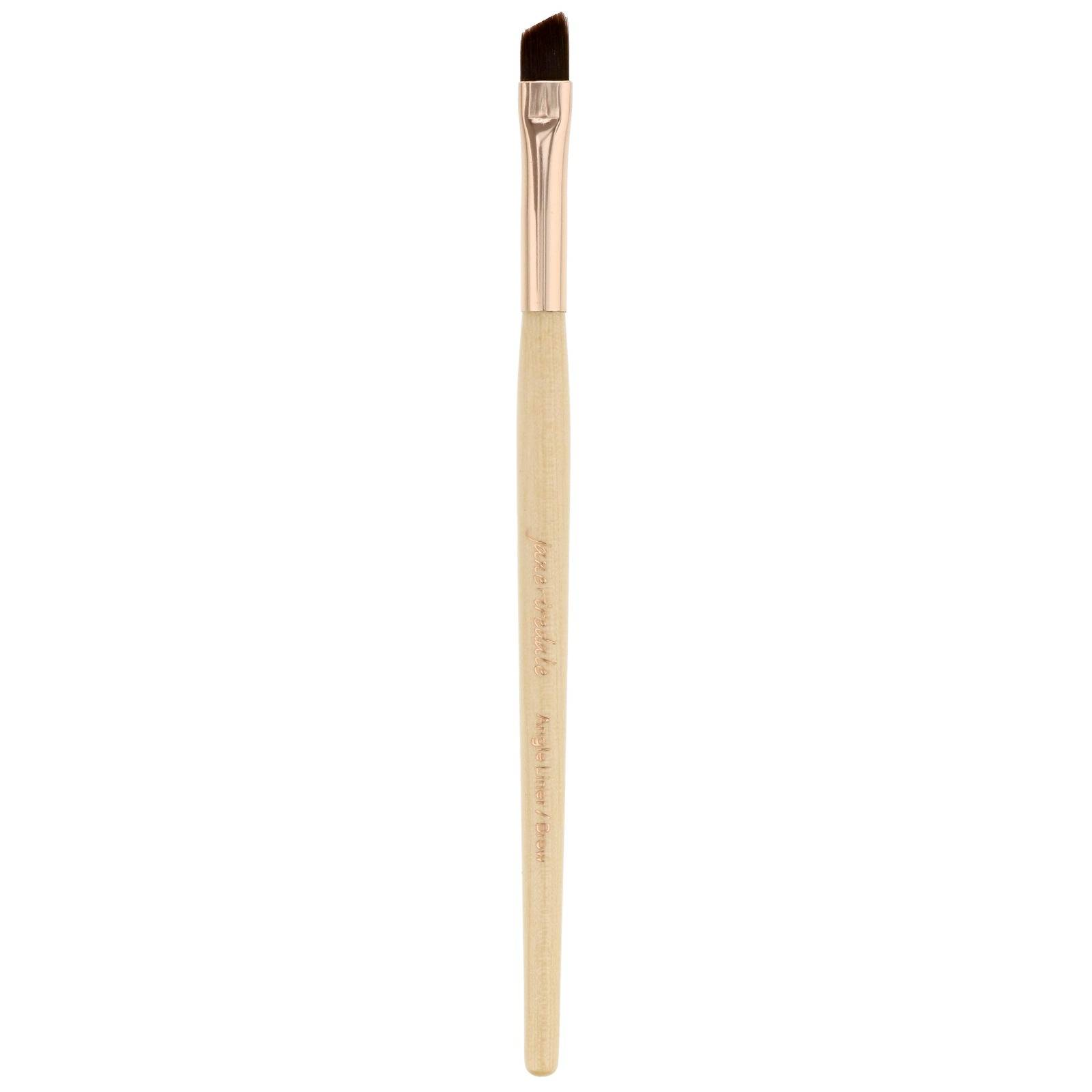 Jane Iredale - Brushes Angle Liner & Brow Brush Rose Gold for Women
