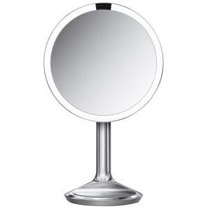 simplehuman - Sensor Mirror SE 5 x Magnification 20cm Sensor Mirror: Round, Stainless Steel, Corded for Women