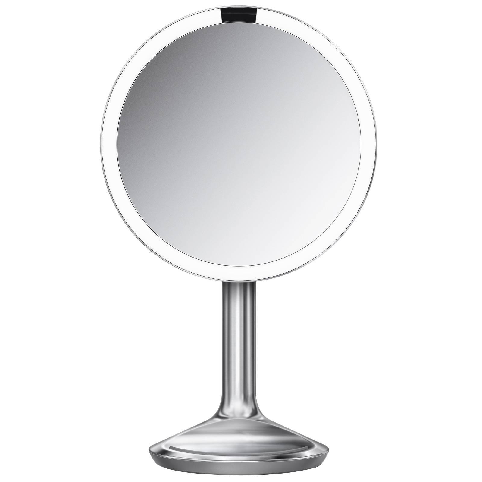 simplehuman - Sensor Mirror SE 5 x Magnification 20cm Sensor Mirror: Round, Stainless Steel, Corded for Women