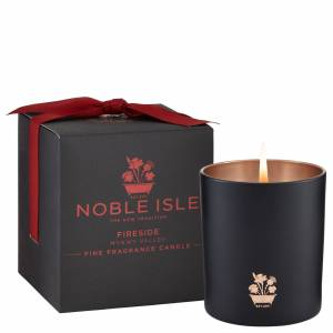 Noble Isle - Home Fragrance Fireside Fine Fragrance Candle 200g for Men and Women
