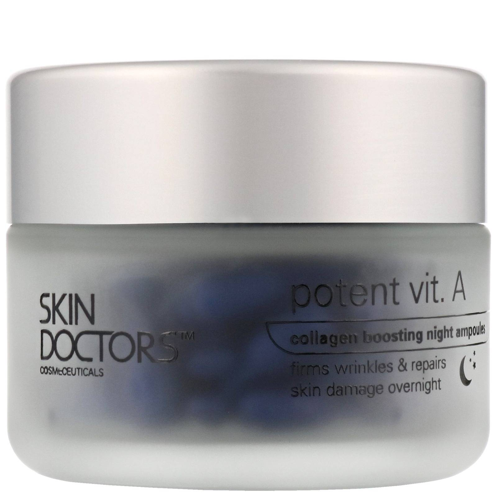 Skin Doctors Potent Vit. A: Collagen Boosting Night Ampoules x 50 for Women