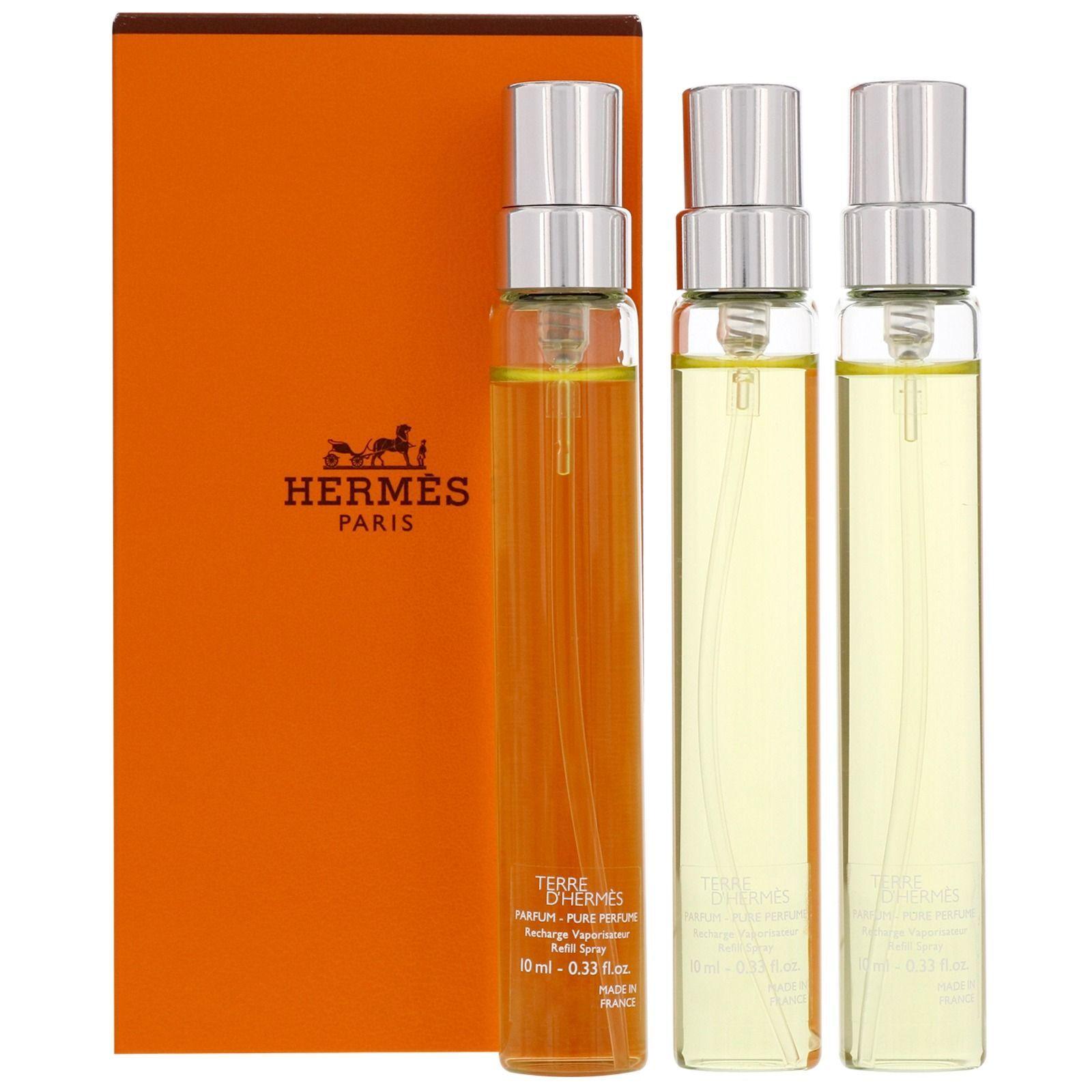 Hermes - Terre D'Hermes Eau de Parfum Spray Refills 3 x 10ml for Men