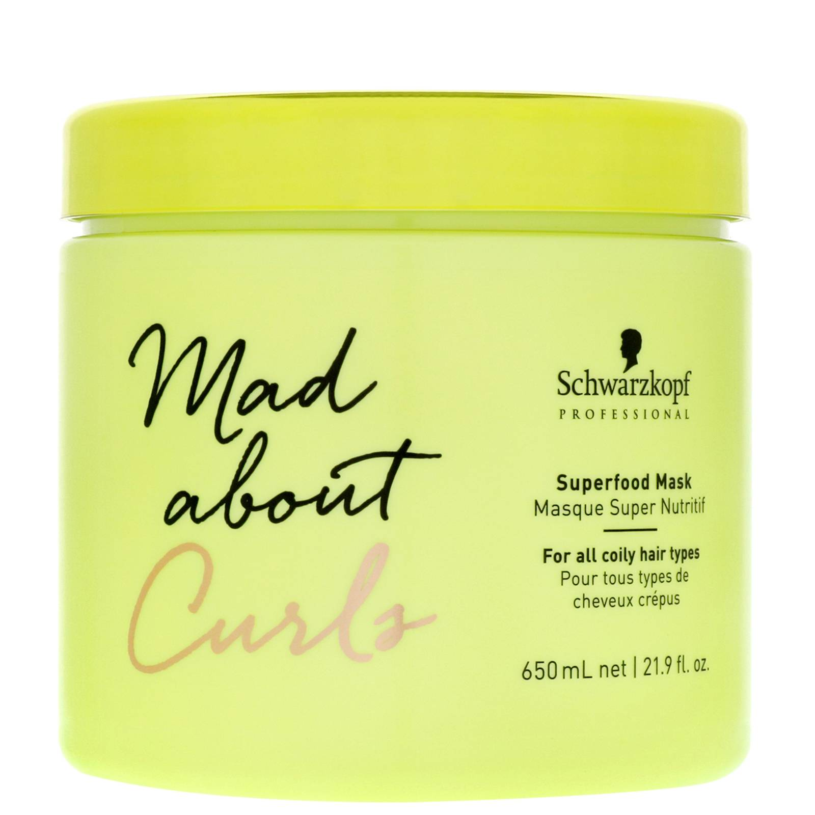 Schwarzkopf - Mad About Curls Superfood Mask 650ml for Women