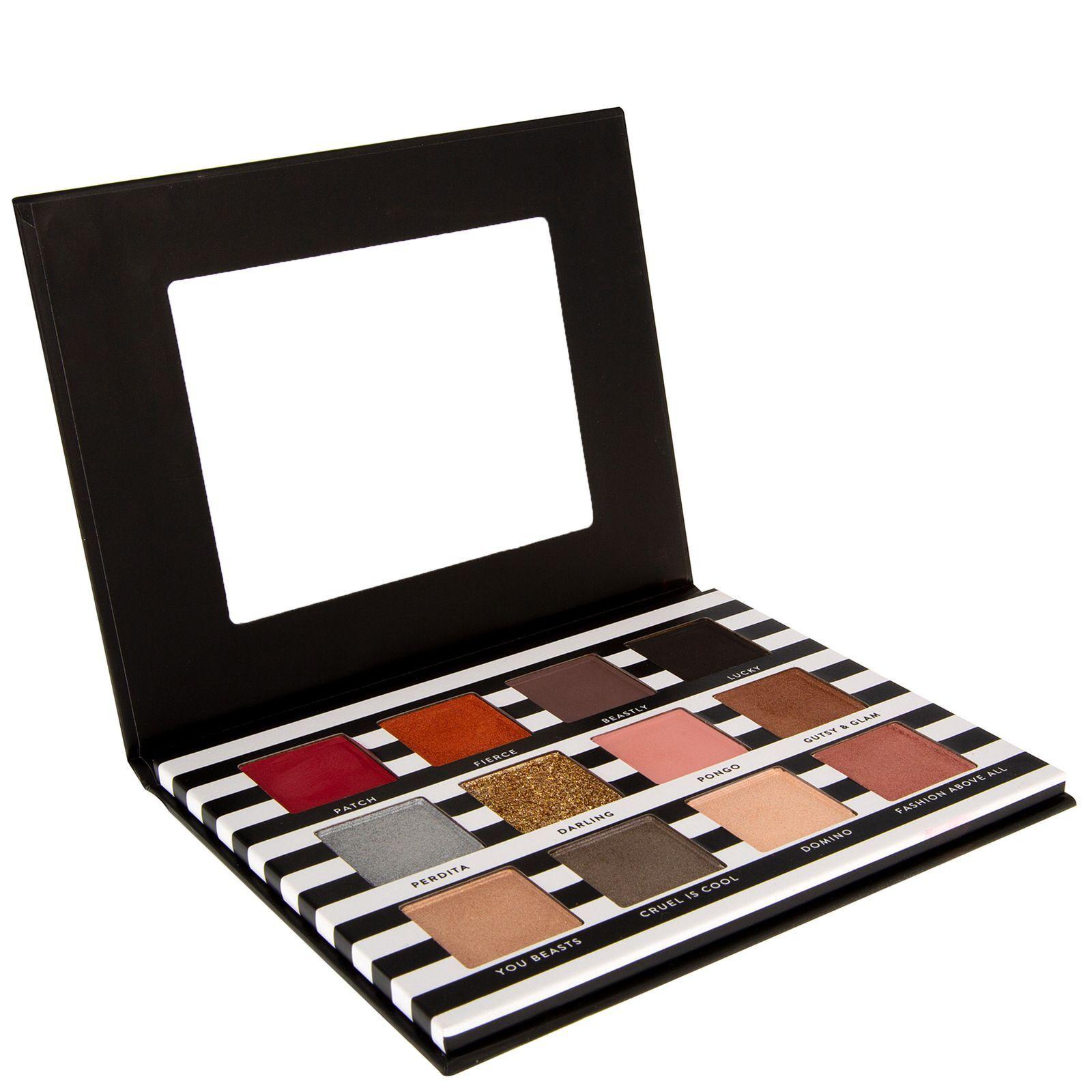 Mad Beauty - Disney Cruella De Vil Eyeshadow Palette for Women