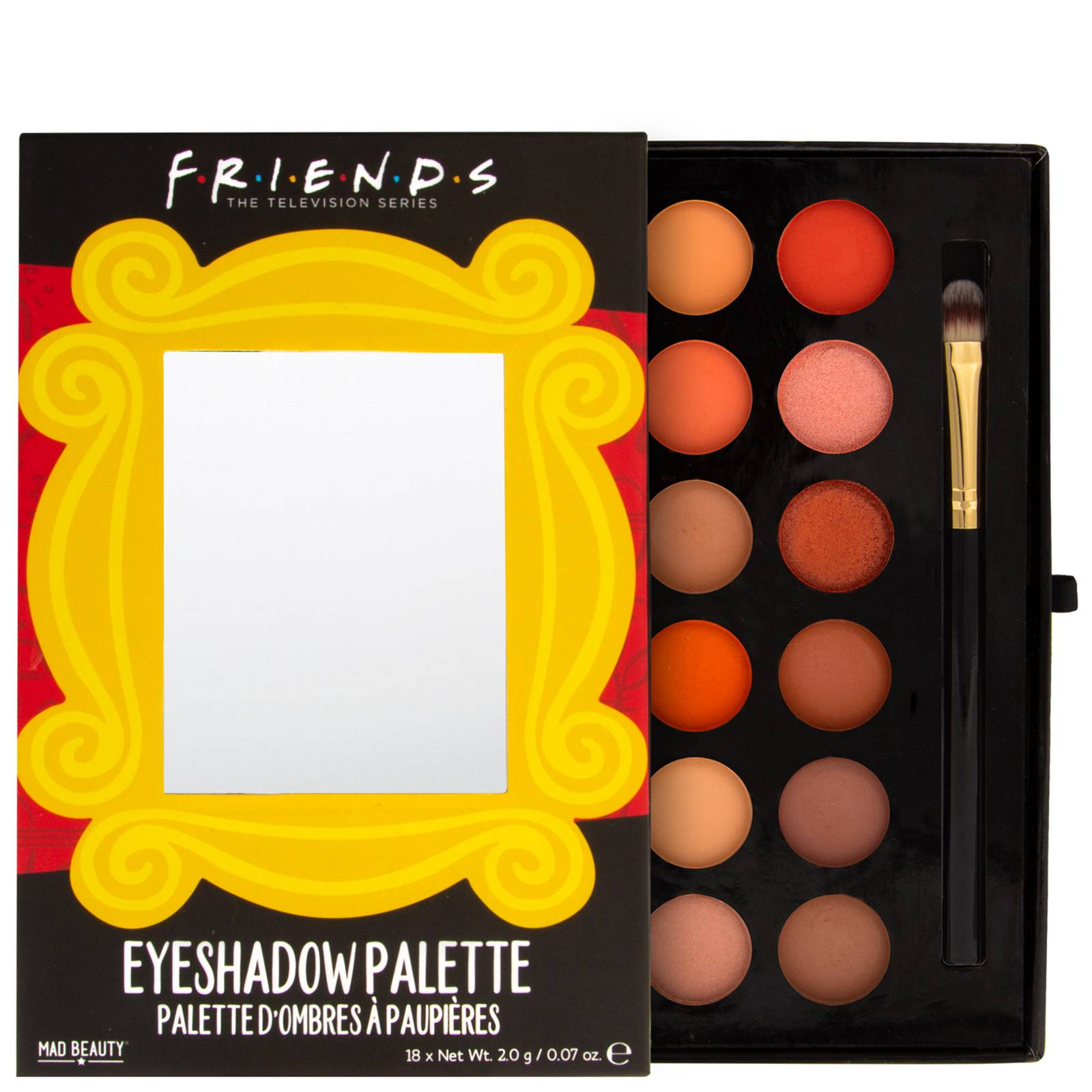 Mad Beauty - Friends Frame Eyeshadow Palette for Women