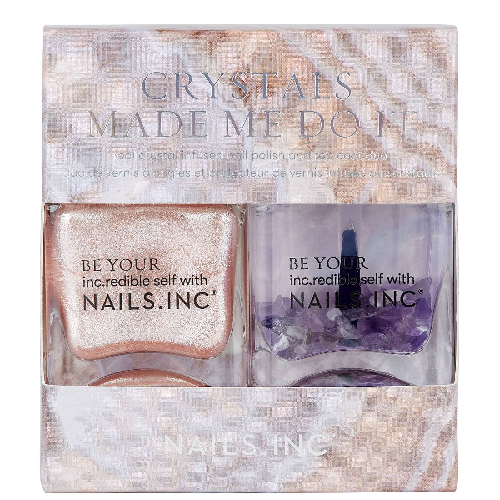 nails inc. - Nail Polish Duo Crystals Made Me Do It for Women