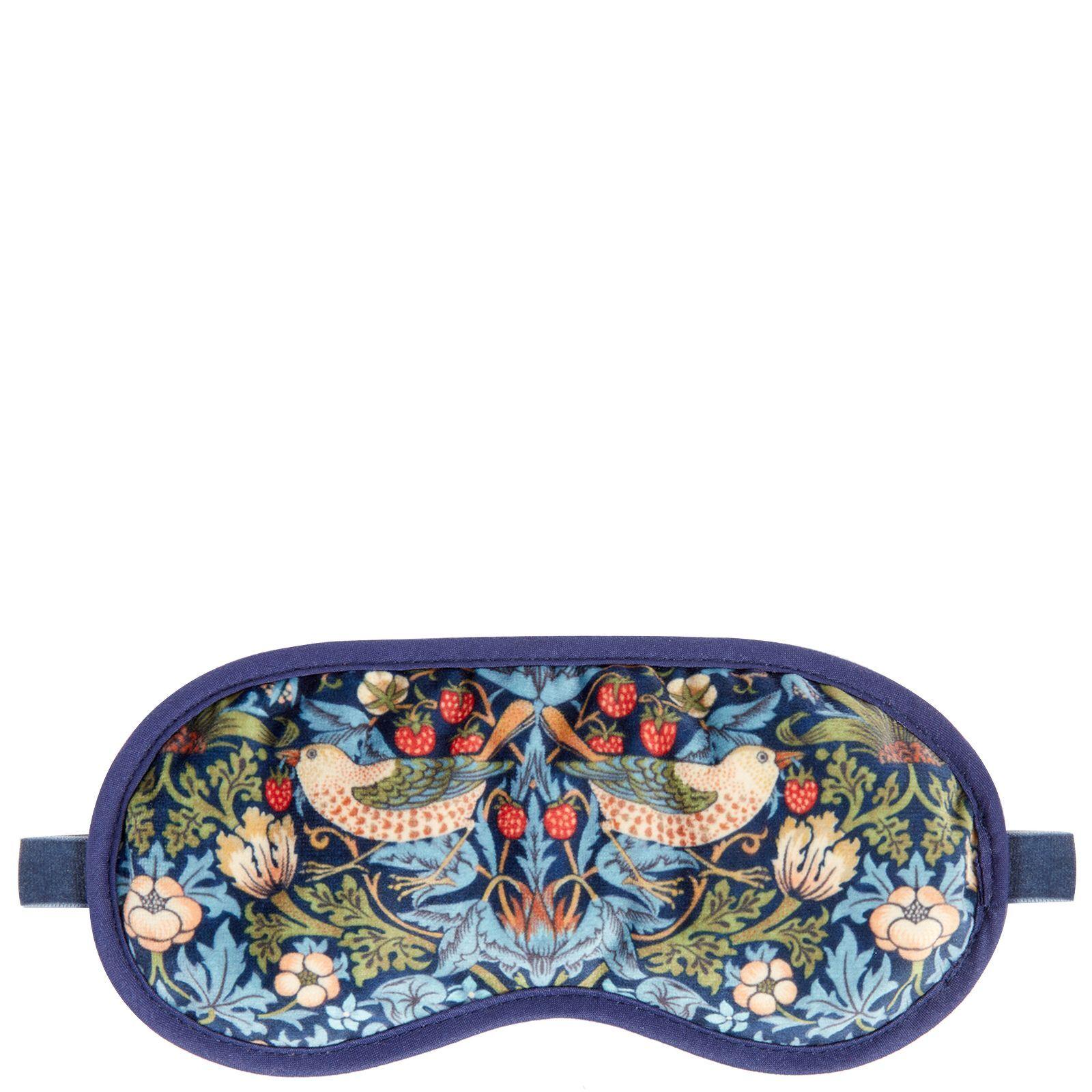 MORRIS & Co - Strawberry Thief Velvet Eye Mask for Women