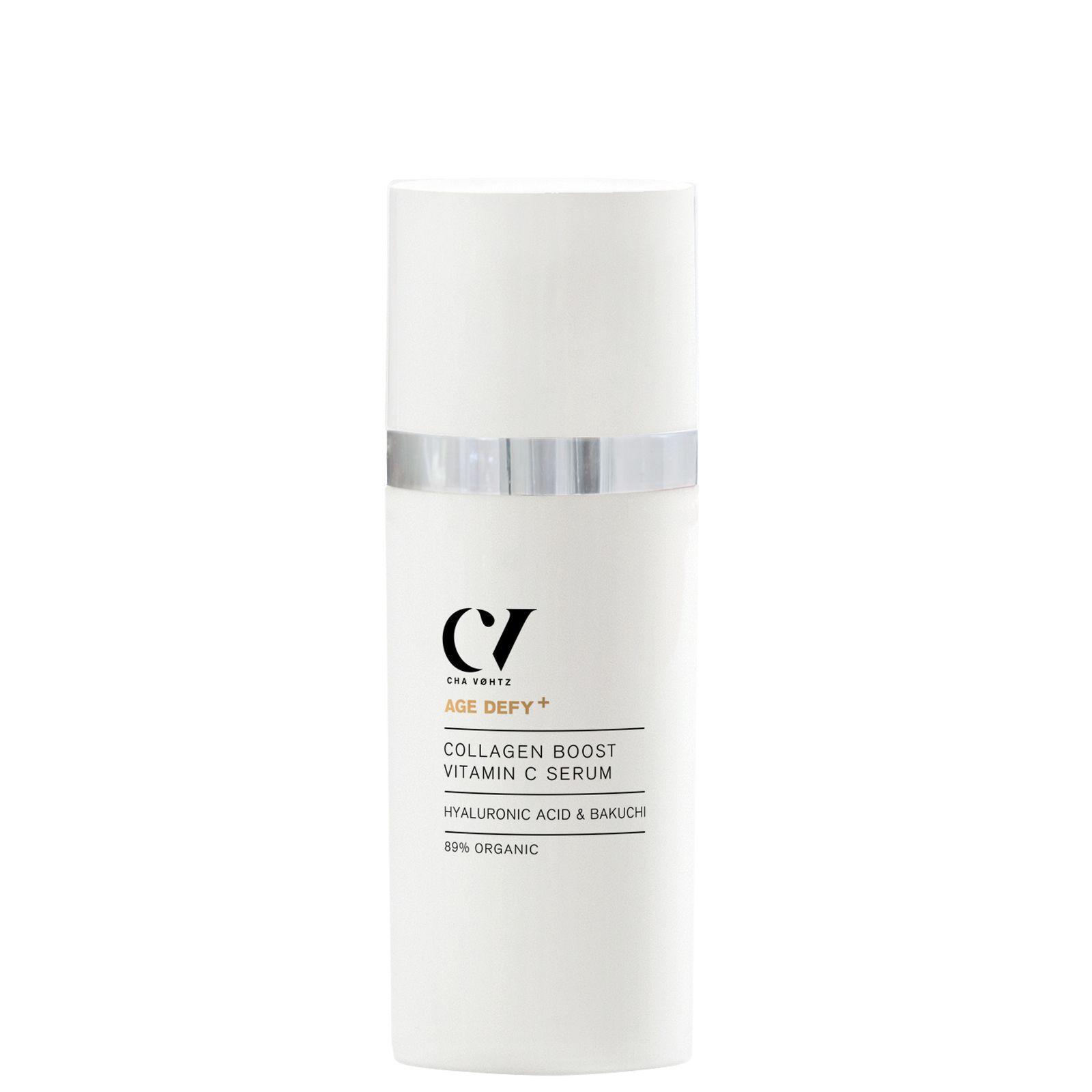 Green People - Skin Age Defy+ Collagen Boost Vitamin C Serum 30ml for Women