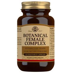Solgar - Botanical & Herb Botanical Female Complex Vegetable Capsules x 30 for Women