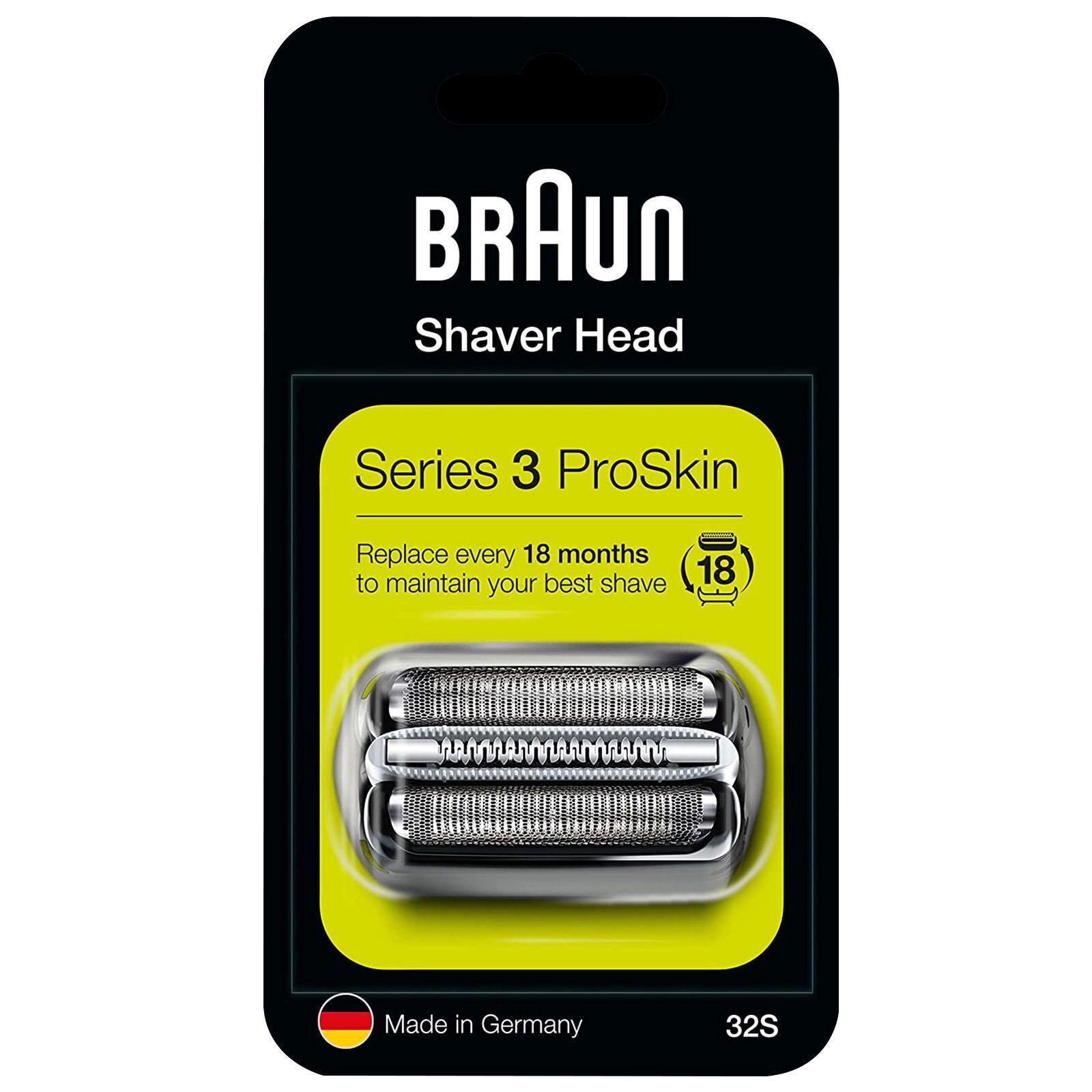 Braun - Replacement Heads Series 3 32S Cassette for Men