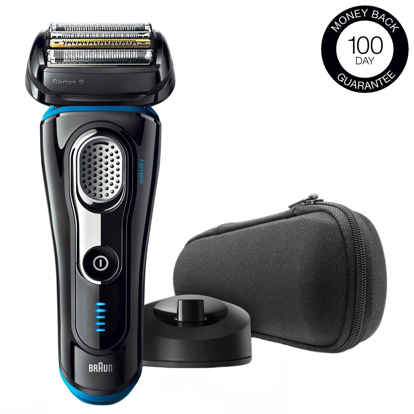Braun - Series Shavers Series 9 9240s Electric Shaver Black for Men
