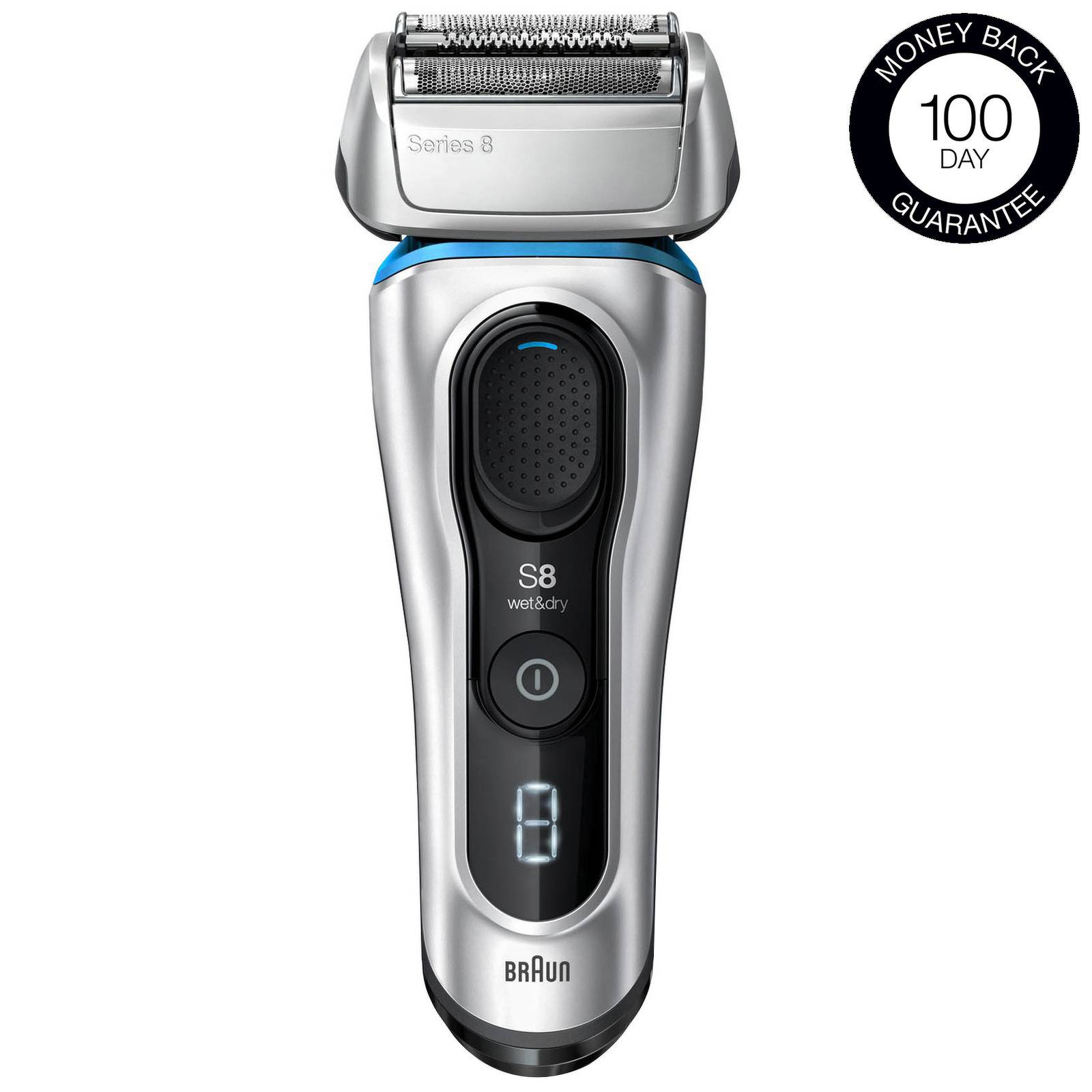 Braun - Series Shavers Series 8 8350s Electric Shaver for Men