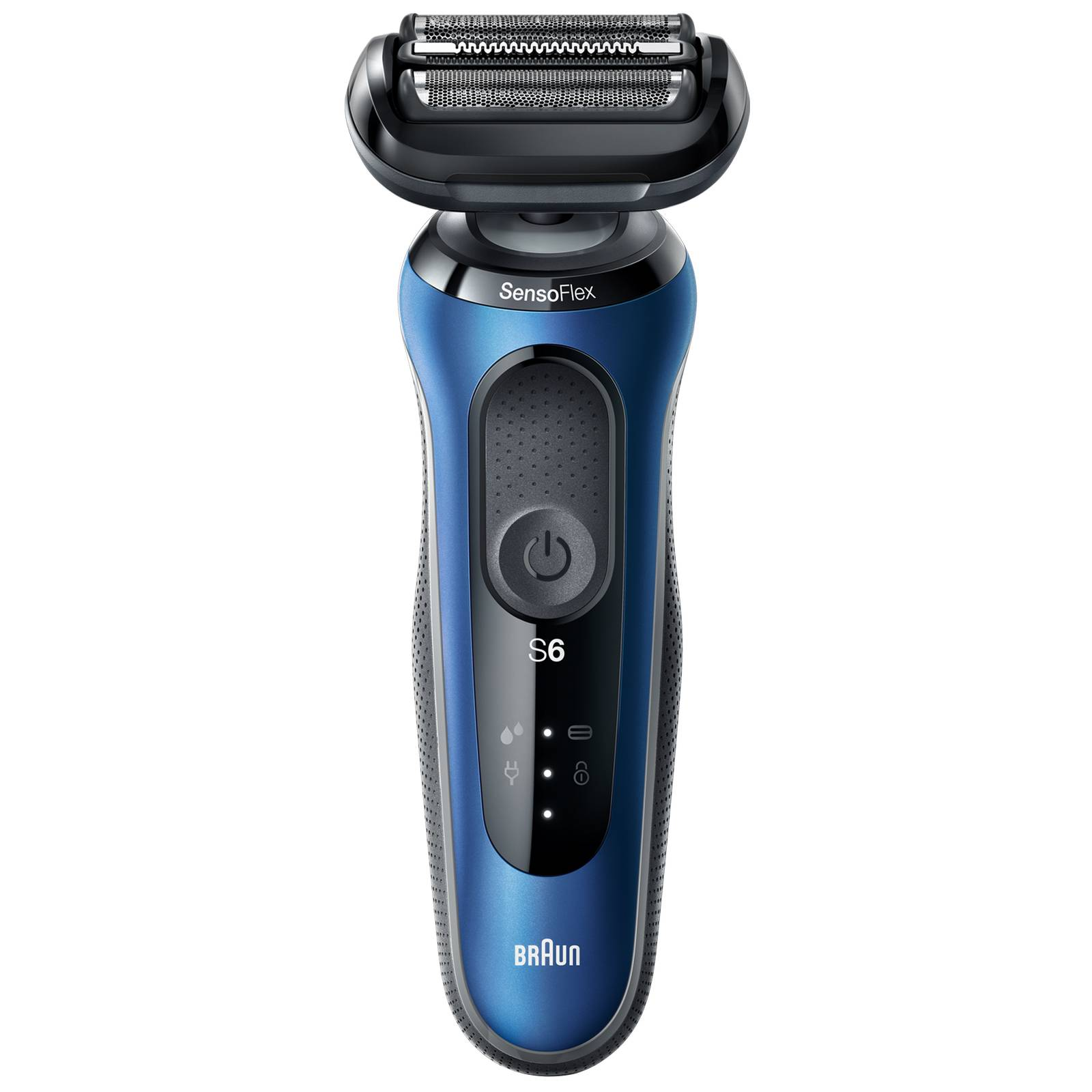 Braun - Series Shavers Series 6 60-B1200s Wet & Dry Shaver with Travel Case and 1 Attachment for Men