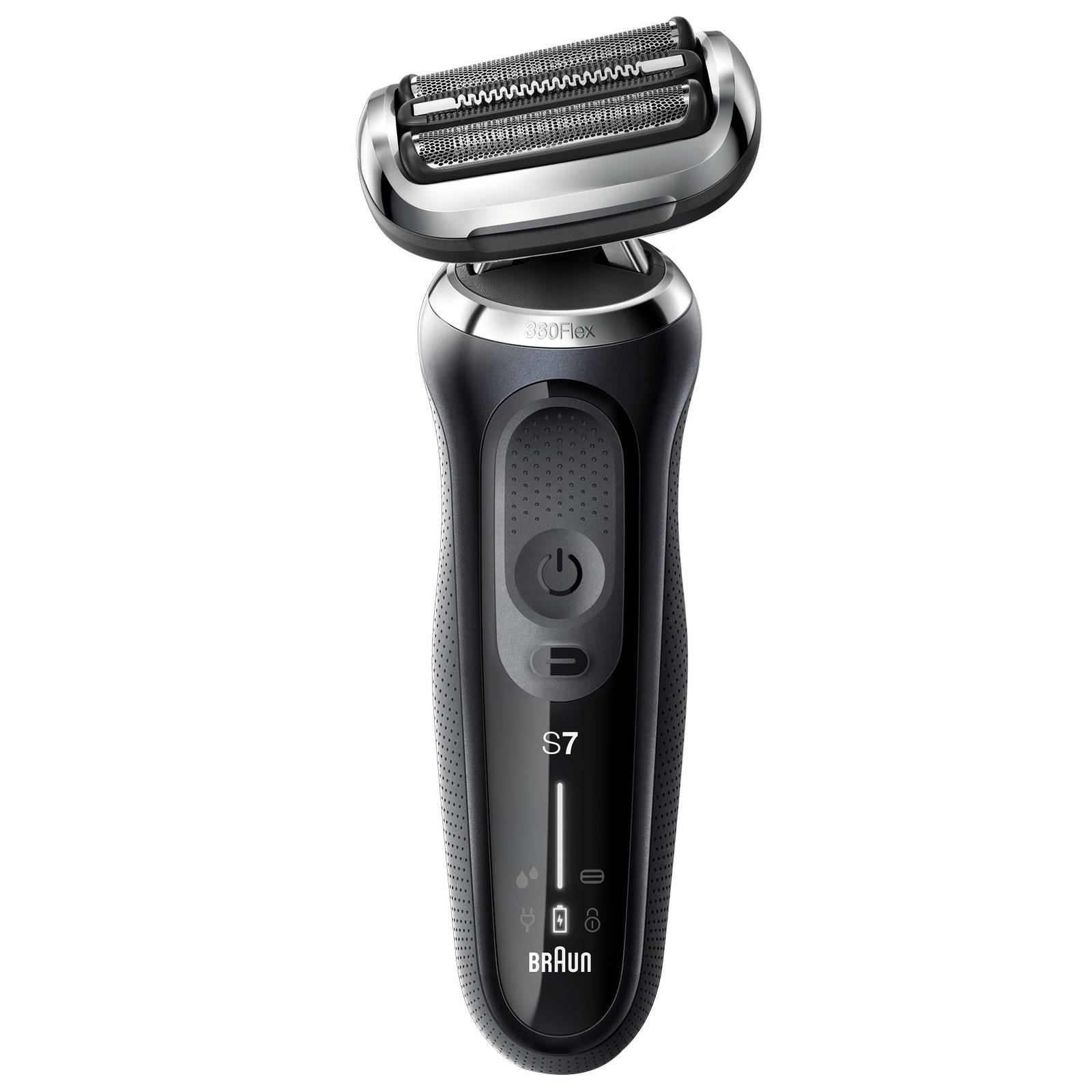 Braun - Series Shavers Series 7 70-N1200s Wet & Dry Shaver with Travel Case and 1 Attachment for Men