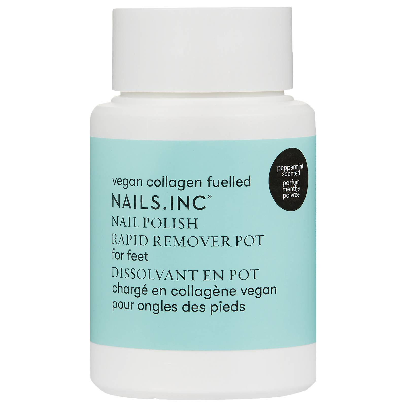 NAILS.INC - Nail Polish Remover Vegan Collagen Fuelled Rapid Remover Pot For Feet for Women