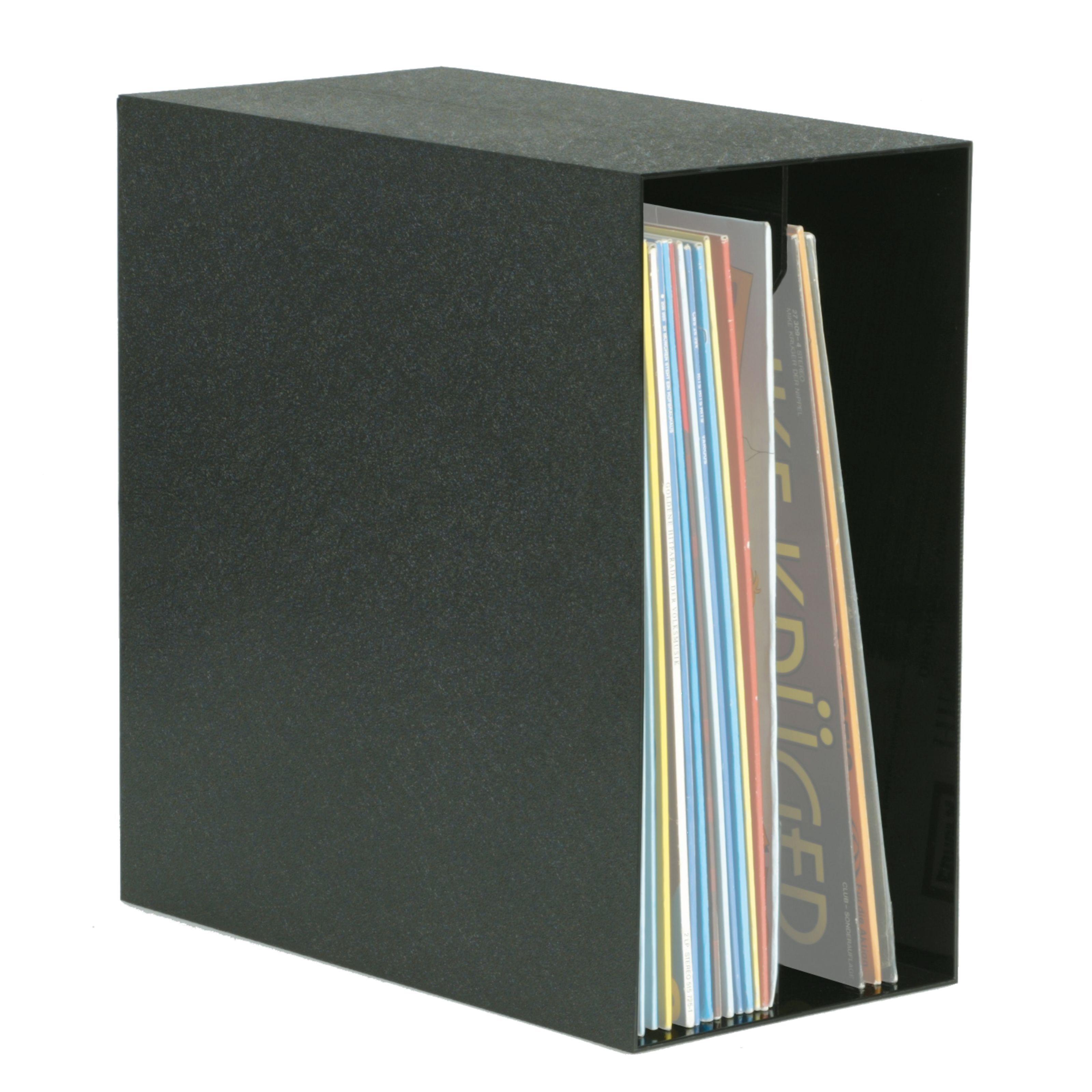 Knosti Archifix-Box black for 50 LP´s