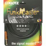 Klotz Instrument Cable, 6m, 1xangled Stevens FunkMaster, TM-R0450