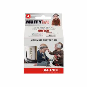 Alpine Muffy Baby Gehörschutz Black
