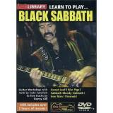 Lick library - Black Sabbath Learn to play (Guitar), DVD