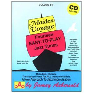Jamey Aebersold Aebersold: Maiden Voyage Vol. 54 incl. CD